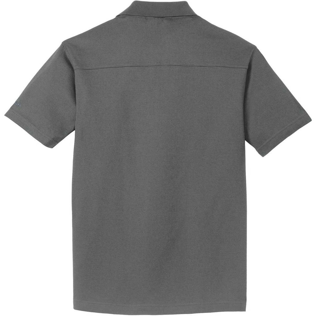 Eddie Bauer Men's Grey Steel Performance Polo