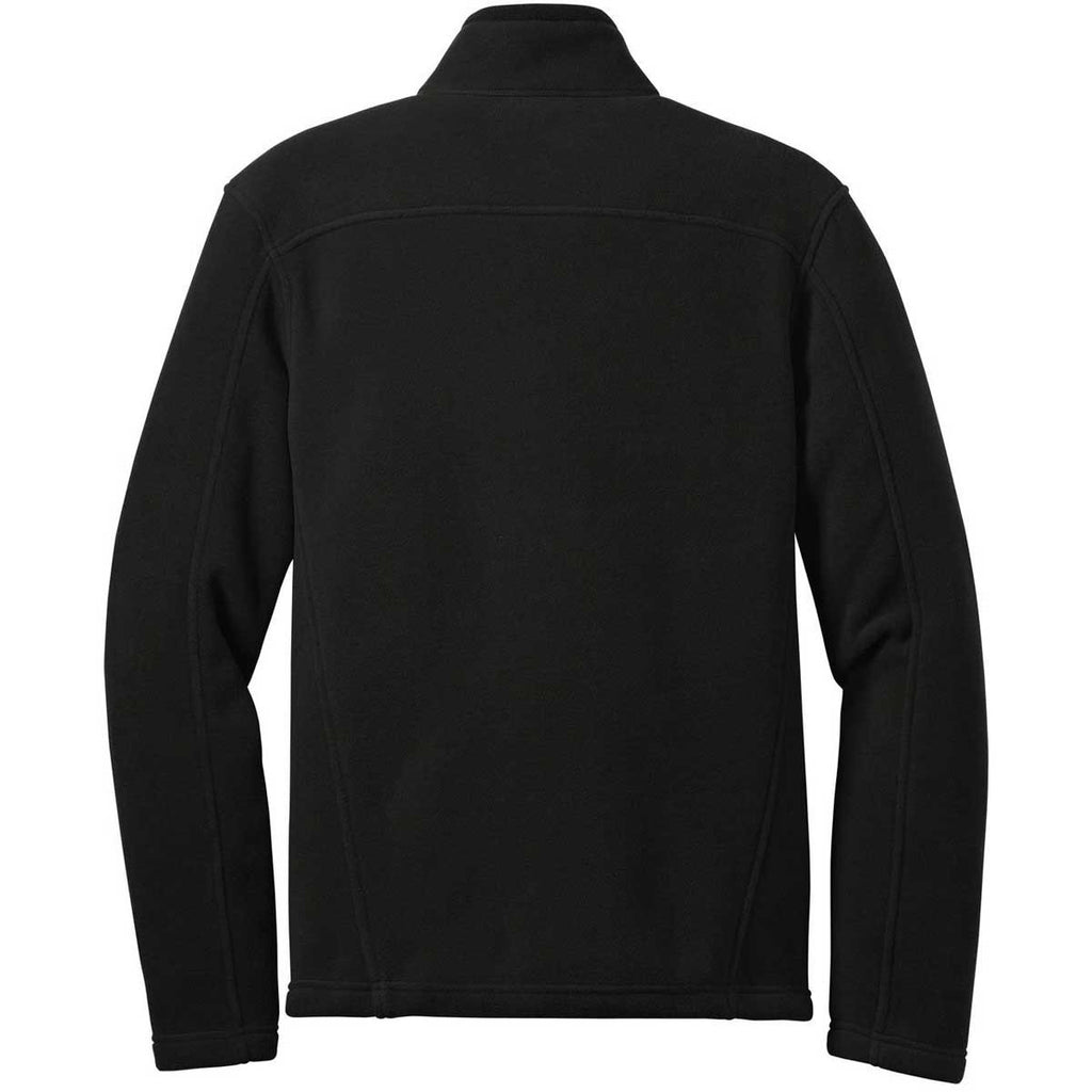 Eddie Bauer Men's Black Full-Zip Fleece Jacket