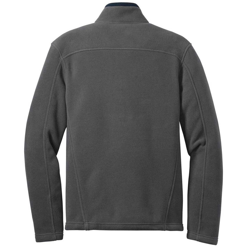 Eddie Bauer Men's Grey Steel Full-Zip Fleece Jacket