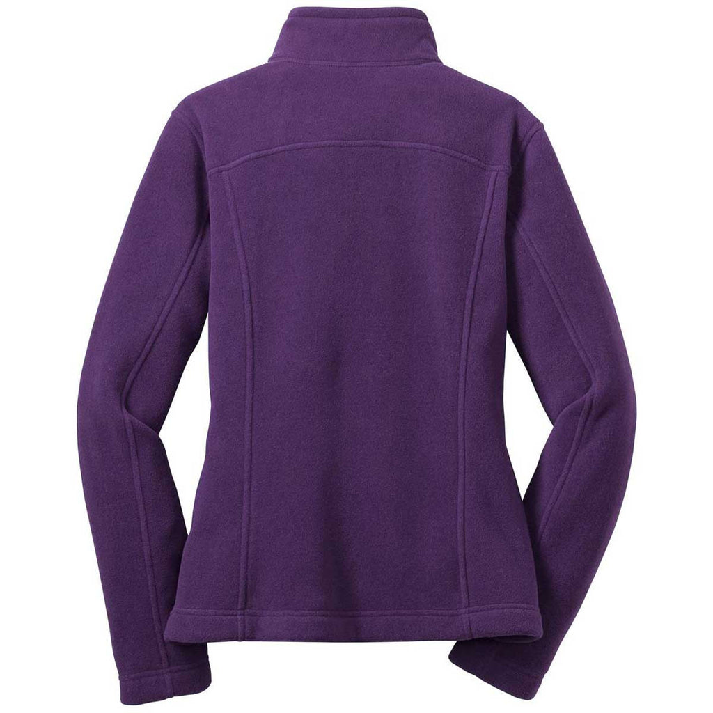 Eddie Bauer Women's Blackberry Full-Zip Fleece Jacket