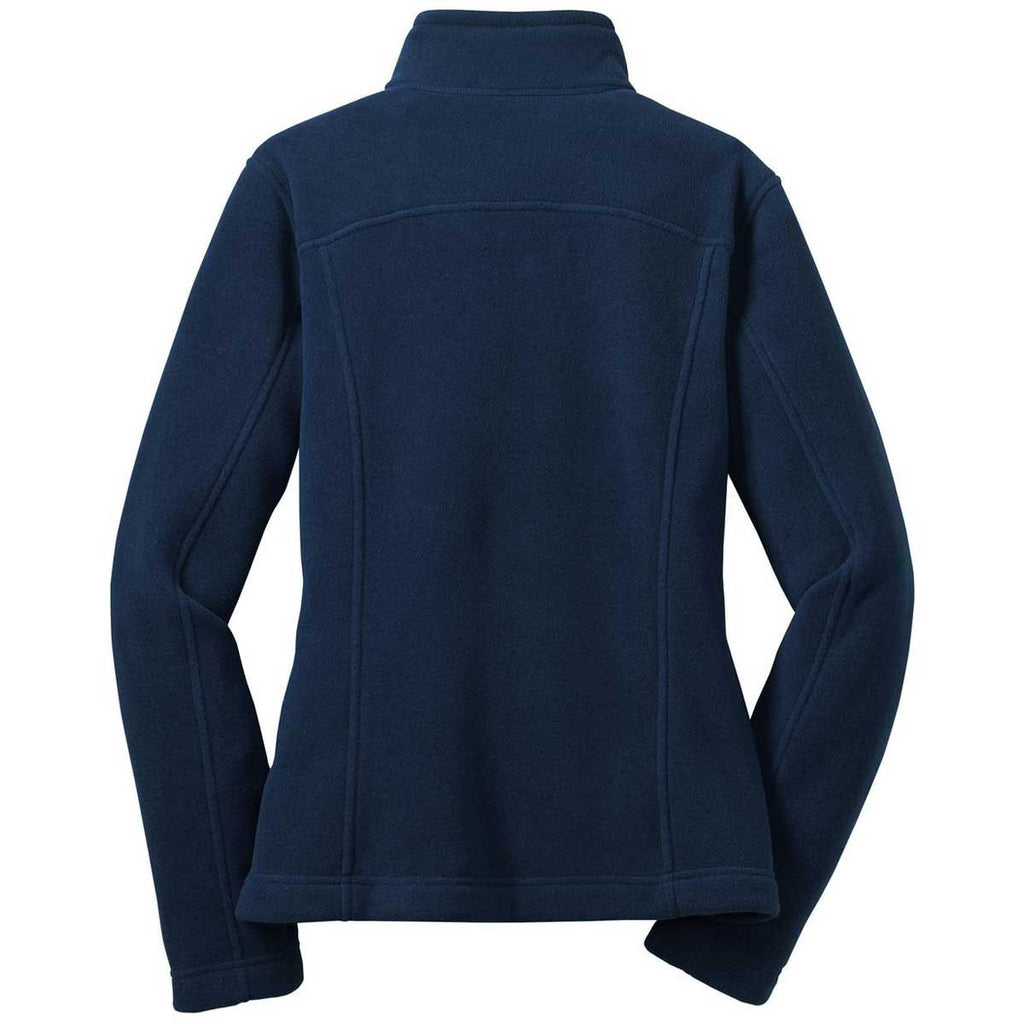 Eddie Bauer Women's River Blue Full-Zip Fleece Jacket