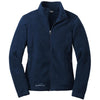 eddie-bauer-blue-women-fleece-jacket