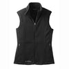 eddie-bauer-black-women-vest-fleece