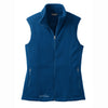 eddie-bauer-blue-women-vest-fleece