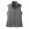 eddie-bauer-grey-women-vest-fleece