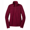 eddie-bauer-red-women-grid-fleece