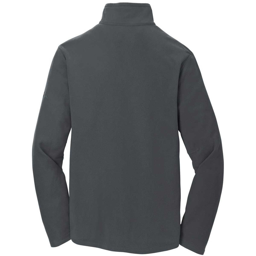 Eddie Bauer Men's Grey Steel Half Zip Microfleece Jacket