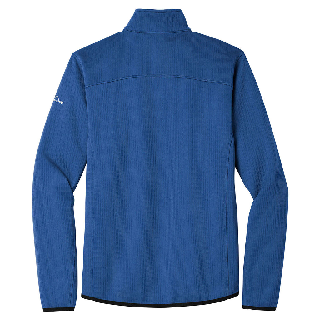 Eddie Bauer Men's Cobalt Blue Dash Full-Zip Fleece Jacket
