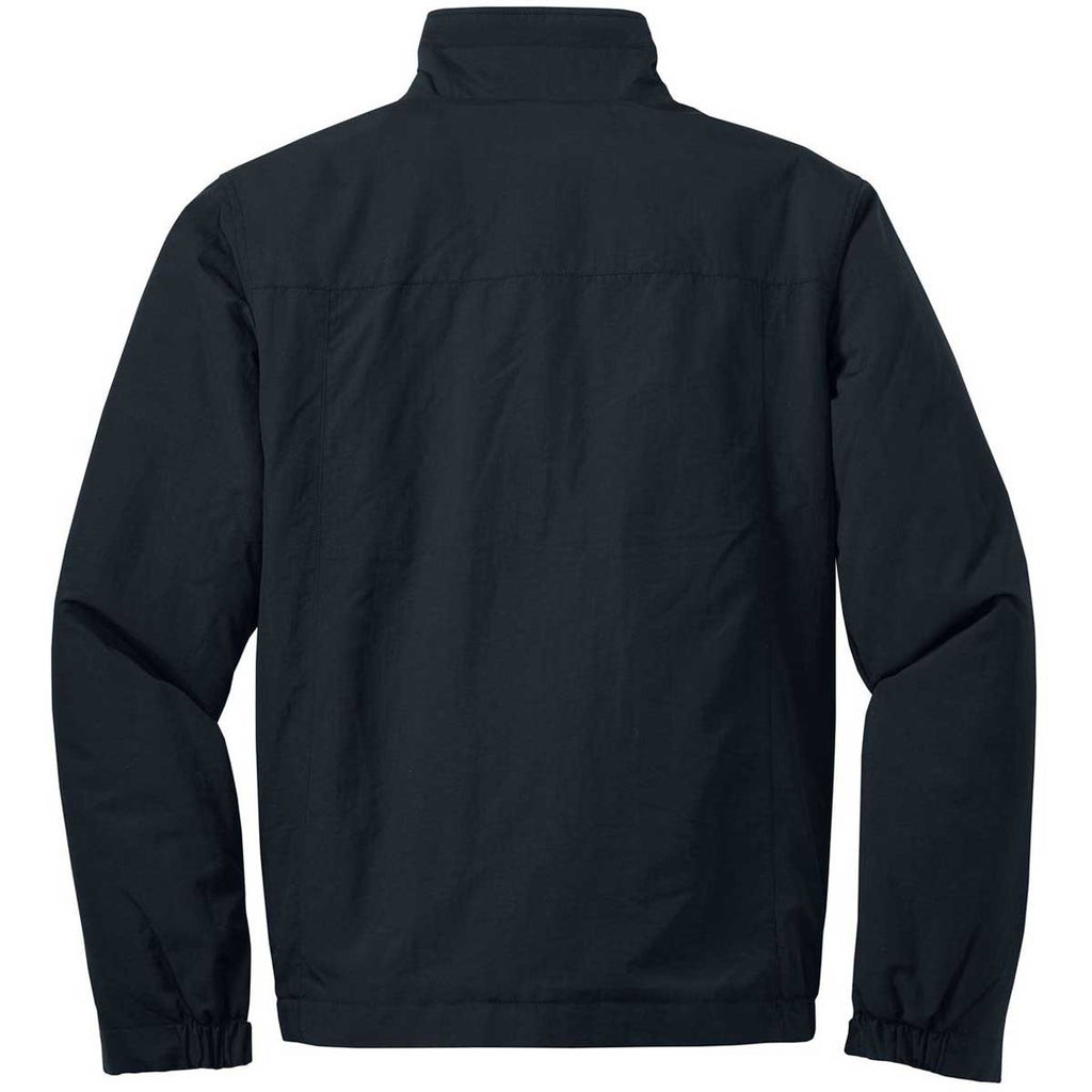 Eddie Bauer Men's Black Fleece-Lined Jacket