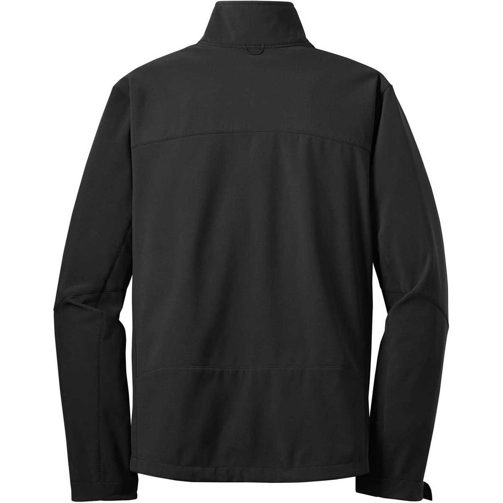 Eddie Bauer Men's Black Softshell Jacket