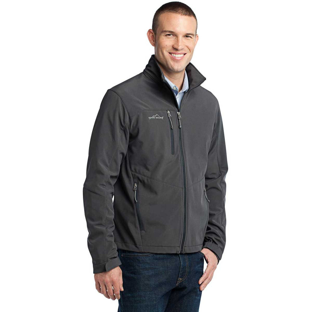 NEPC - Eddie Bauer Men's Grey Steel Softshell Jacket