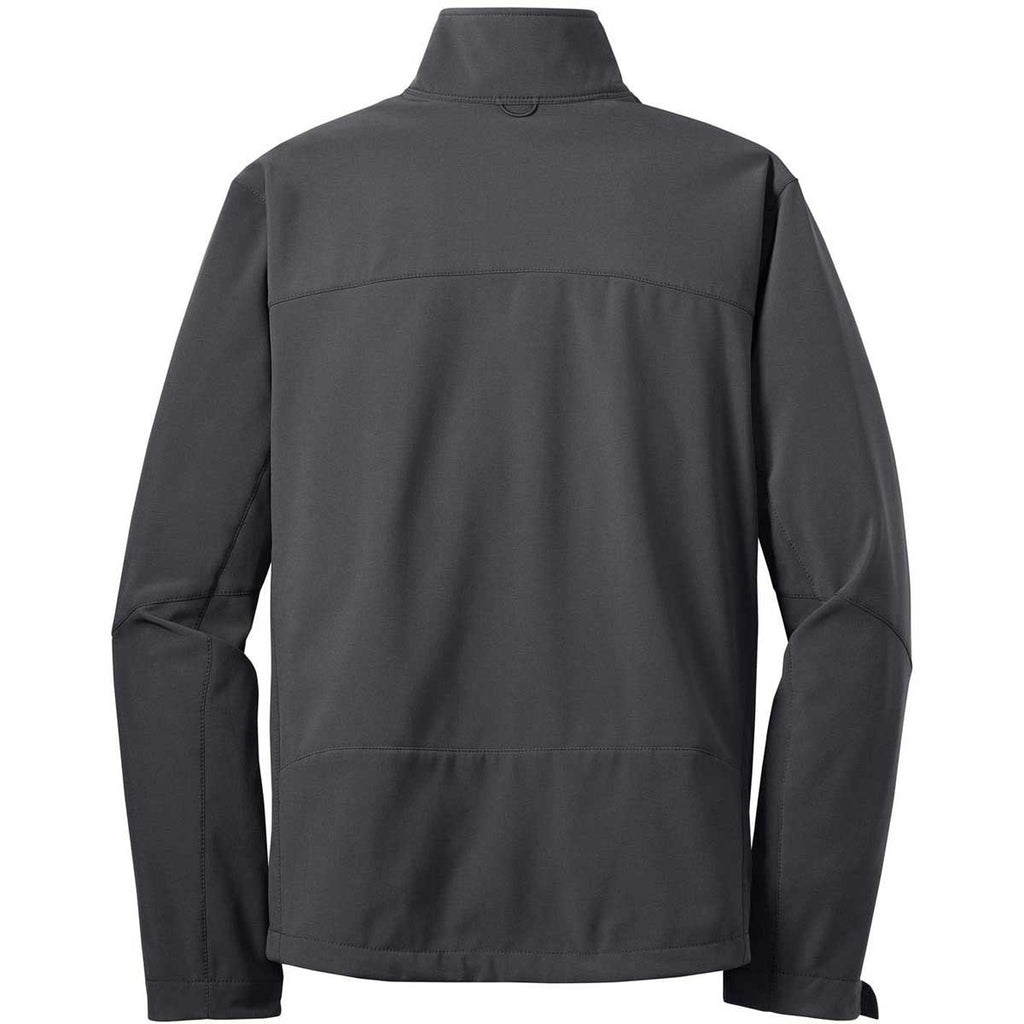 Eddie Bauer Men's Grey Steel Softshell Jacket