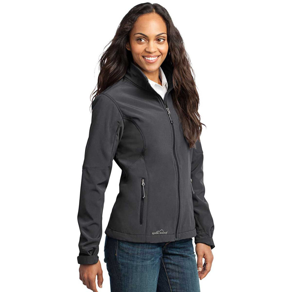 NEPC - Eddie Bauer Women's Grey Steel Softshell Jacket
