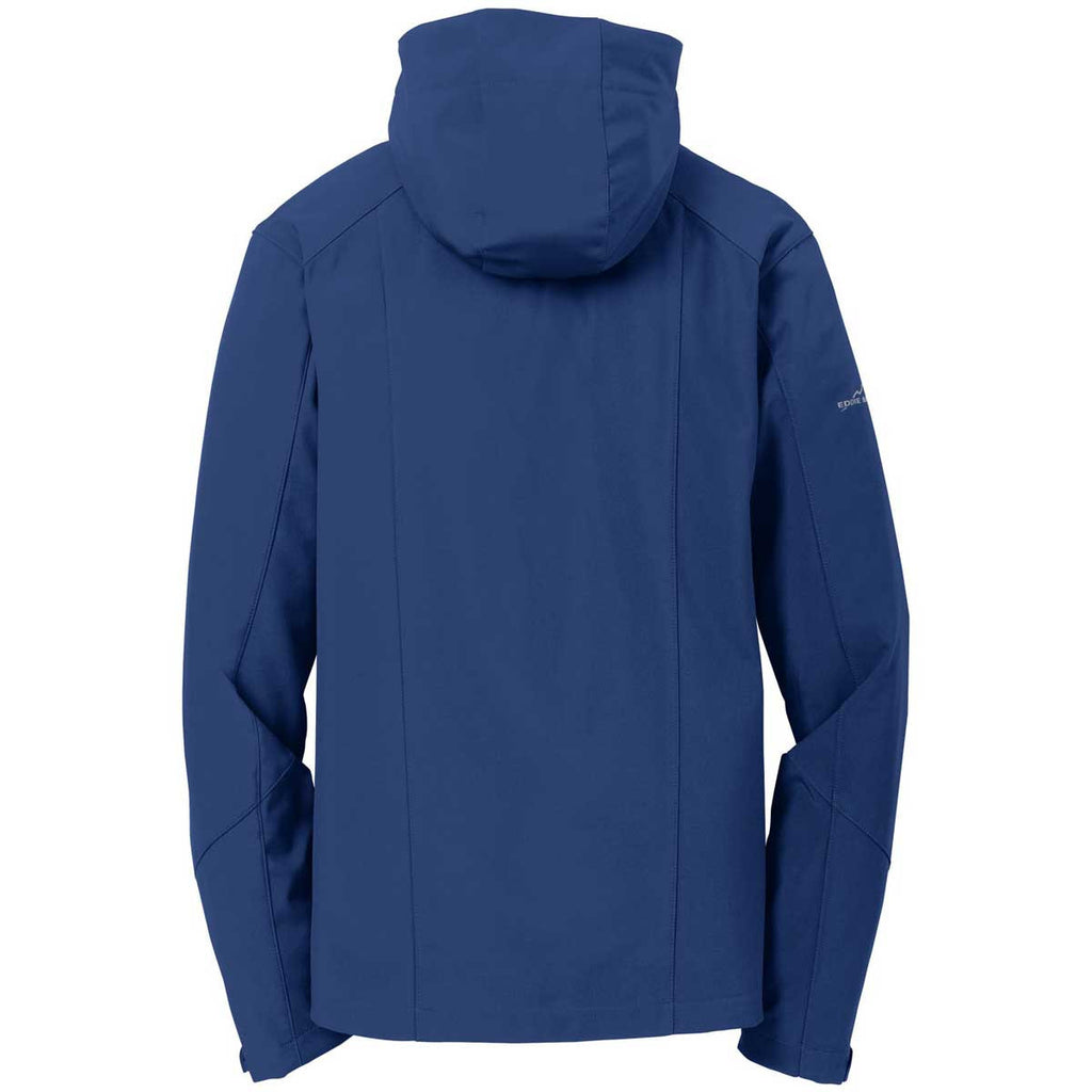 Eddie Bauer Men's Admiral Blue Hooded Softshell Parka