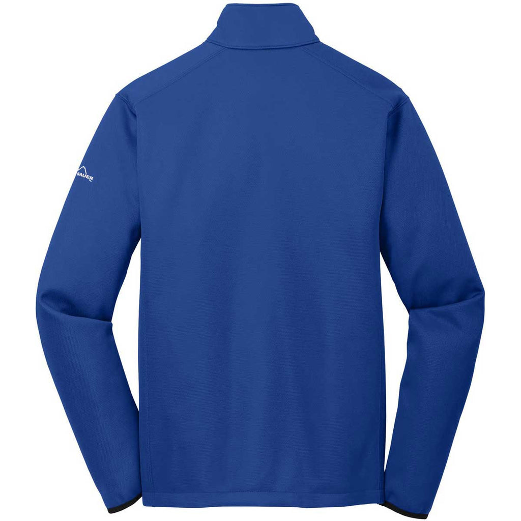 Eddie Bauer Men's Cobalt Blue Weather-Resist Softshell Jacket