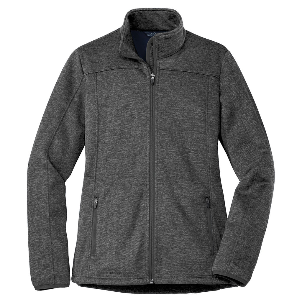 Eddie Bauer Women's Black Heather/Black StormRepel Soft ...