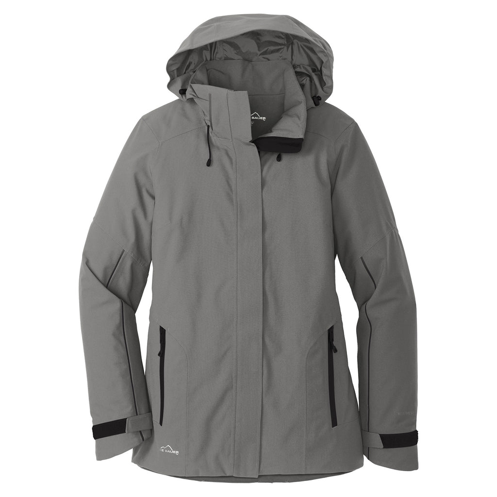 72485c41b Eddie Bauer Women's Metal Grey WeatherEdge Plus Insulated Jacket