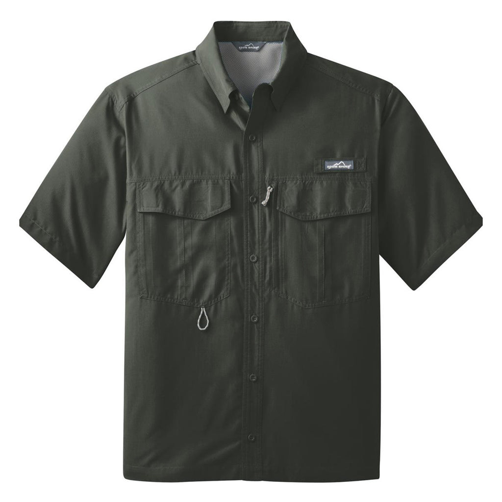 Mens Custom Casual Button Downs Corporate Casual Fishing Shirts
