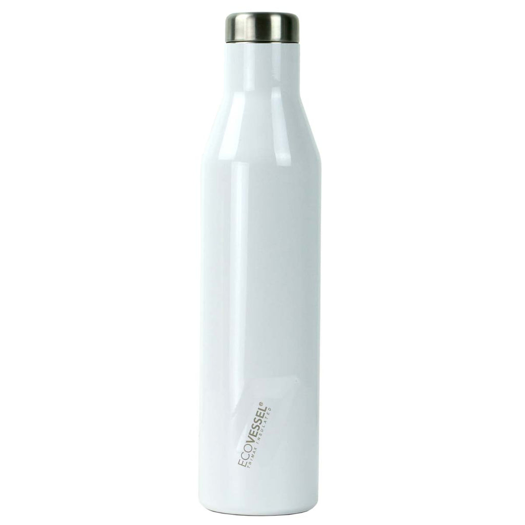 EcoVessel White Pearl 25 oz Bottle