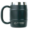 EcoVessel Black 16 oz Barrel Mug