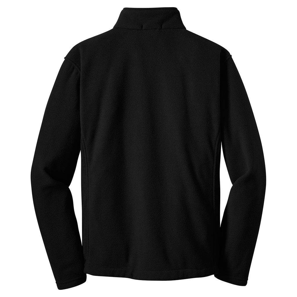 Port Authority Men's Black Value Fleece Jacket