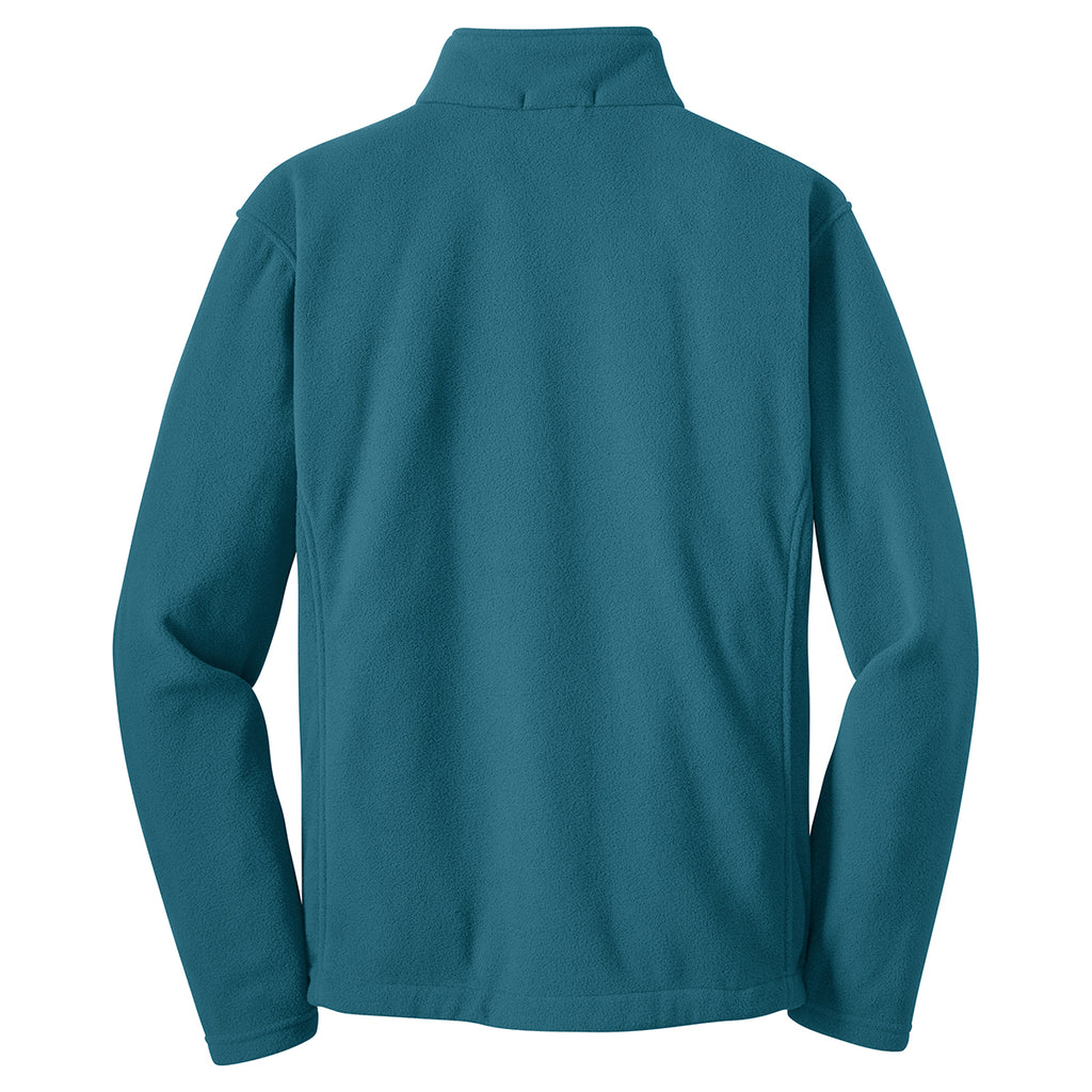 Port Authority Men's Teal Blue Value Fleece Jacket