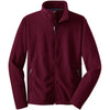 port-authority-burgundy-value-fleece