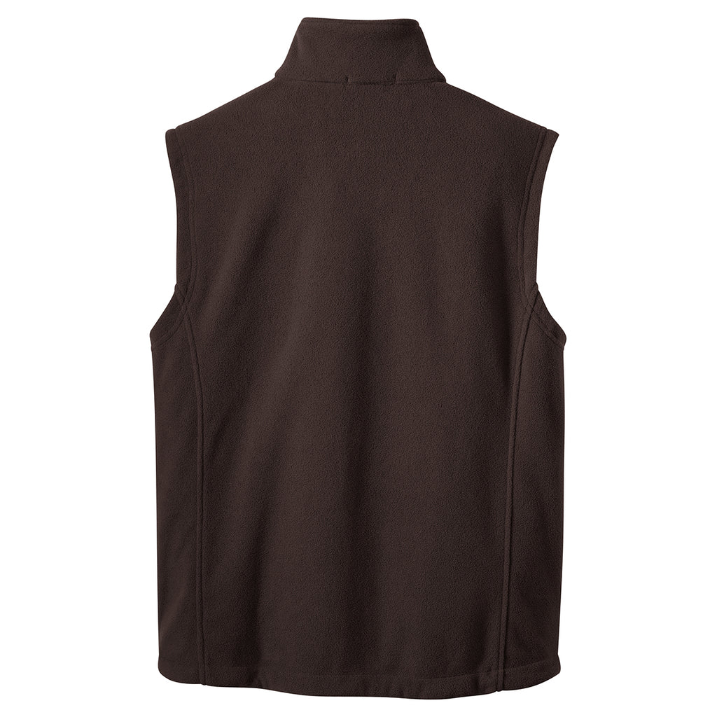 Port Authority Men's Dark Chocolate Brown Value Fleece Vest