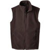 port-authority-brown-fleece-vest