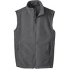 port-authority-grey-fleece-vest