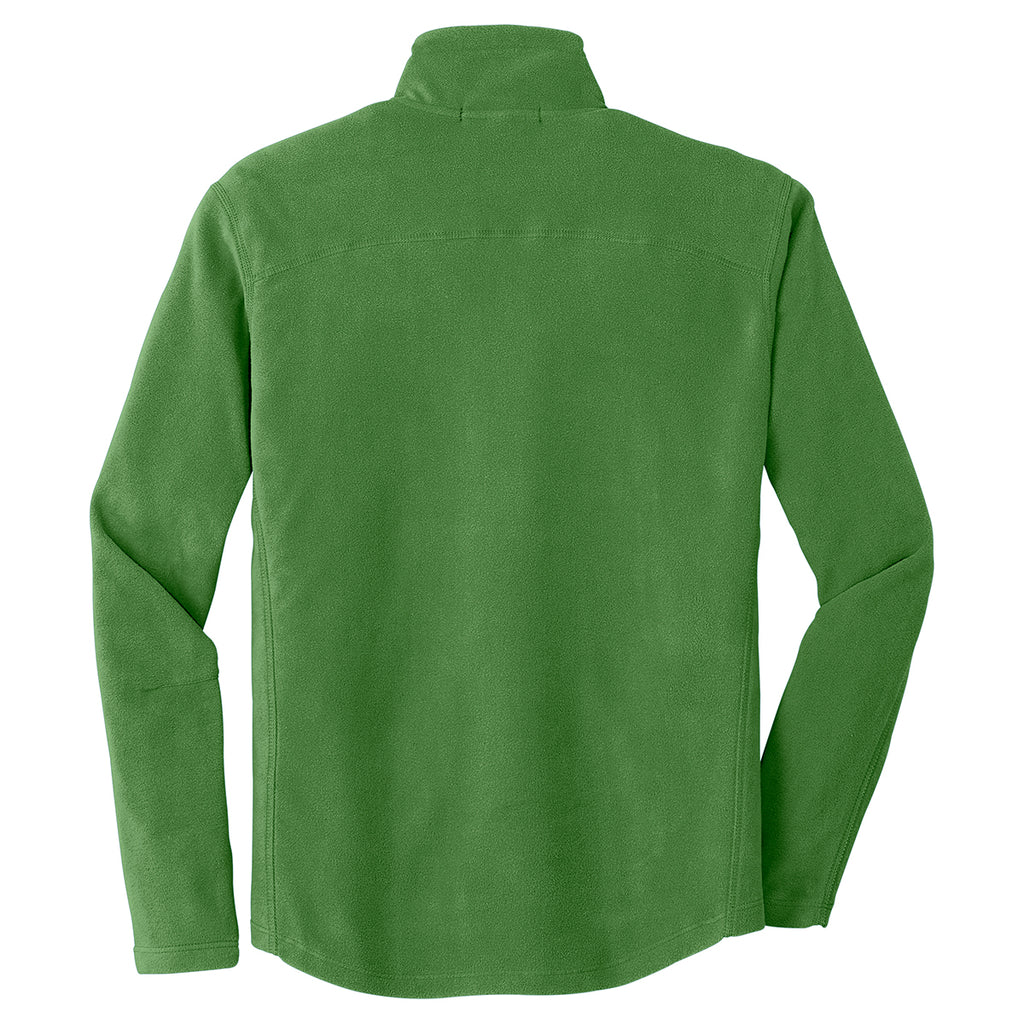 Port Authority Men's Chive Green Microfleece Jacket