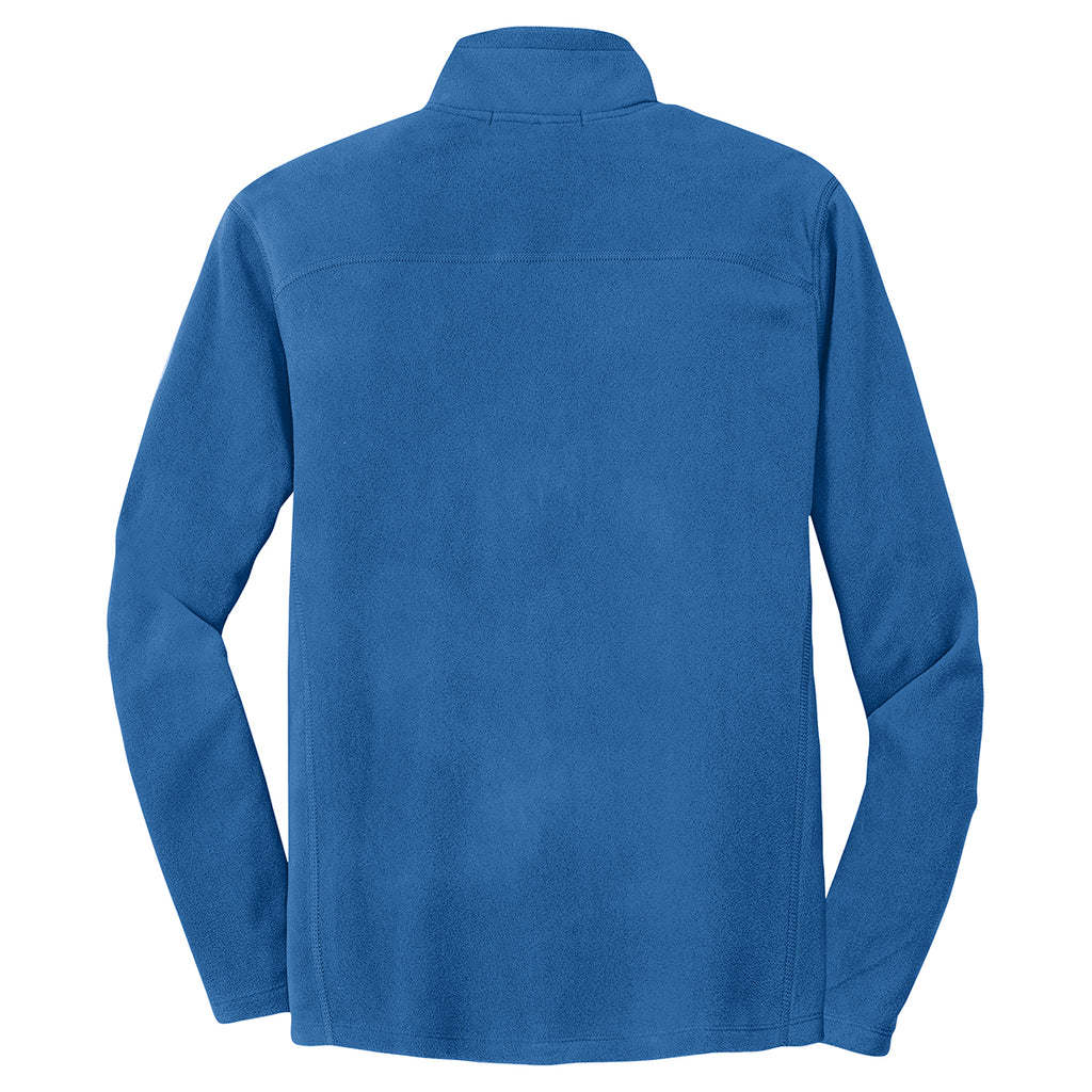 Port Authority Men's Light Royal Microfleece 1/2-Zip Pullover