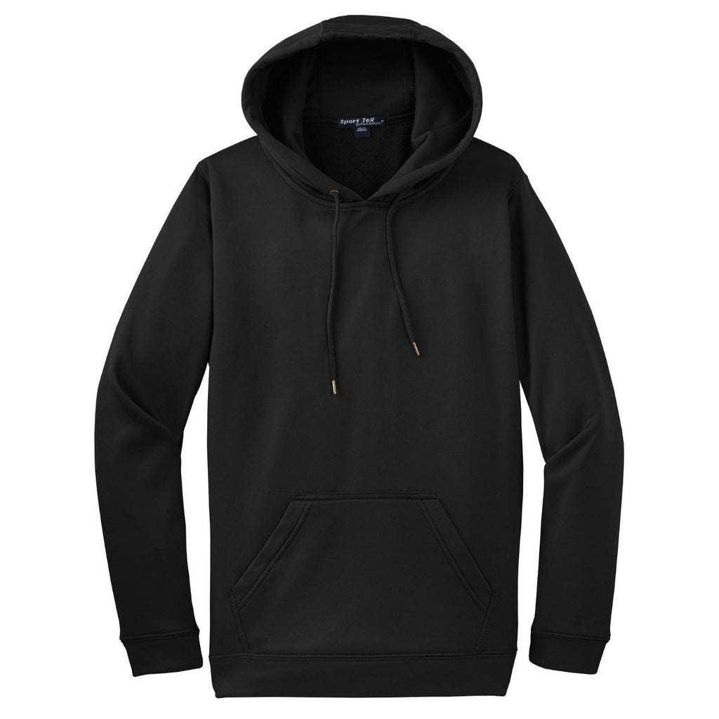 Sport Tek Men S Black Sport Wick Fleece Hooded Pullover These jackets are made from materials like. merchology