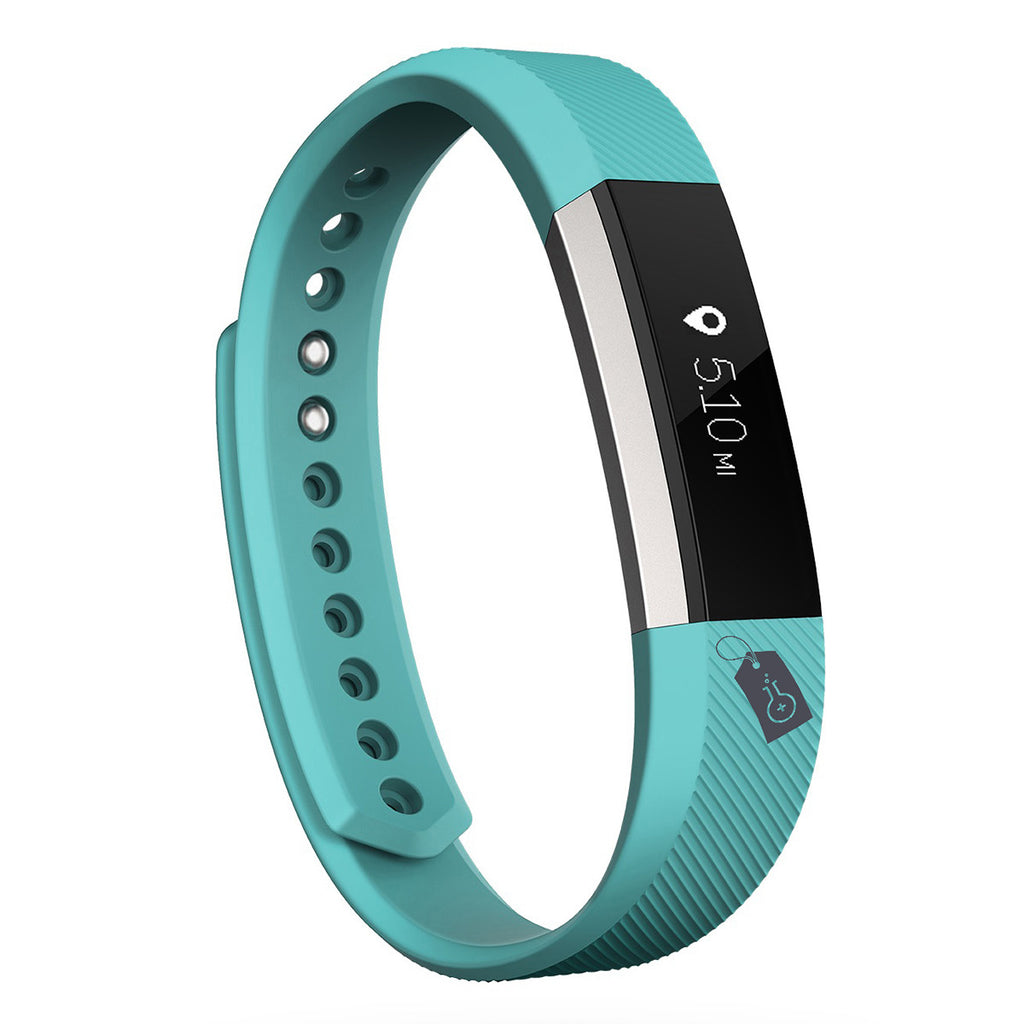 Fitbit Teal Alta Wireless Activity & Sleep Wristband (WITH LOGO)