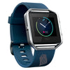 Fitbit Blue-Silver Blaze Smart Fitness Watch (WITH LOGO)