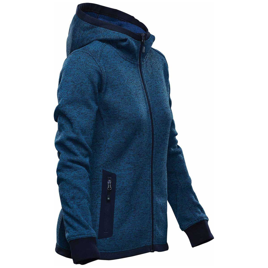 Stormtech Women's Denim Juneau Knit Hoody