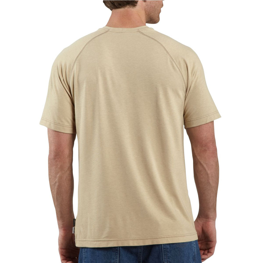 Carhartt Men's Sand Flame-Resistant Force Short Sleeve T-Shirt