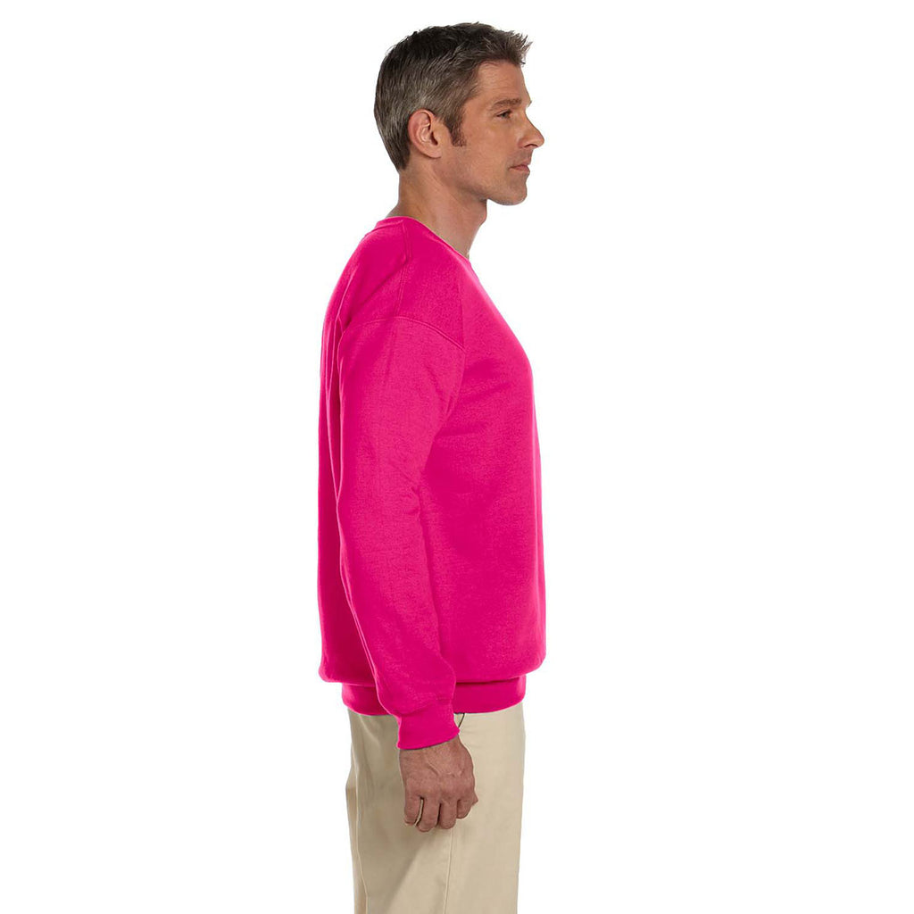 Gildan Men's Heliconia Heavy Blend 50/50 Fleece Crew