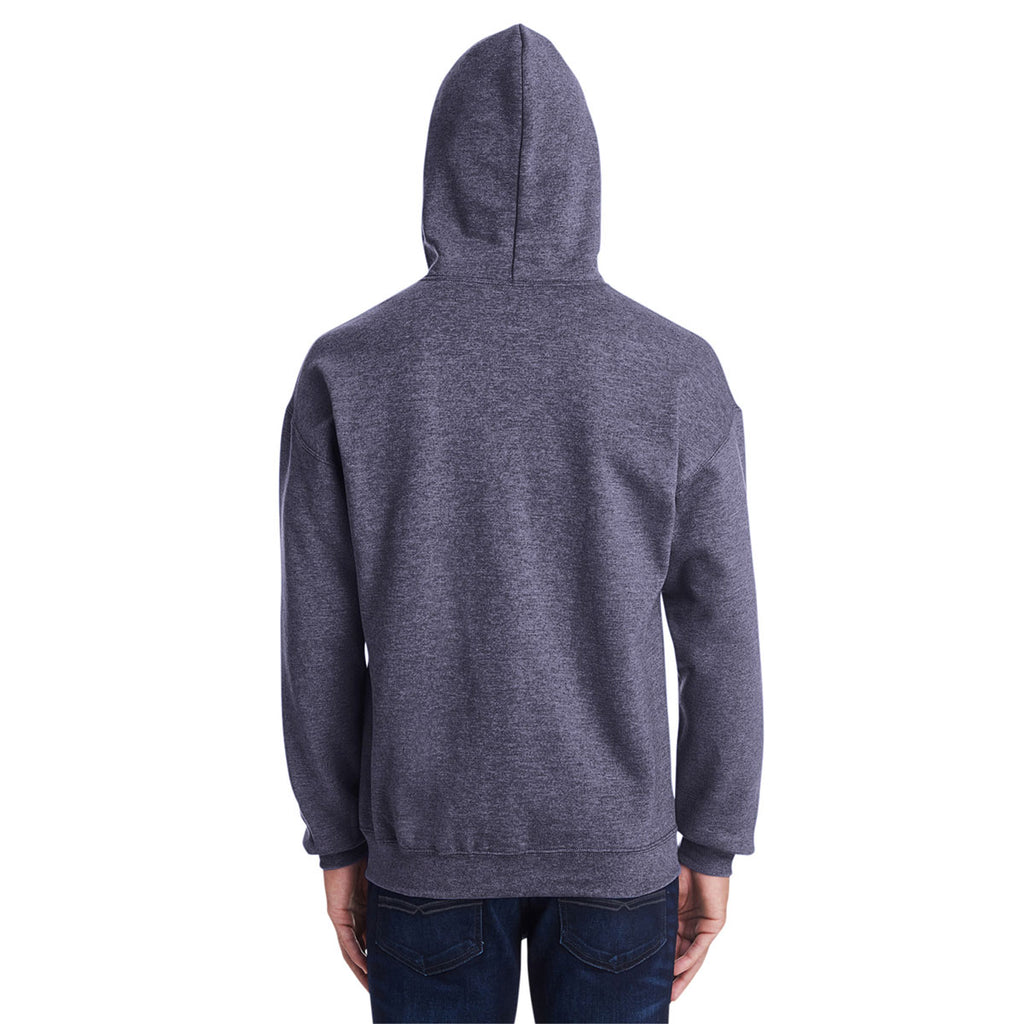Gildan Men's Heather Sport Dark Navy Heavy Blend 50/50 Hoodie