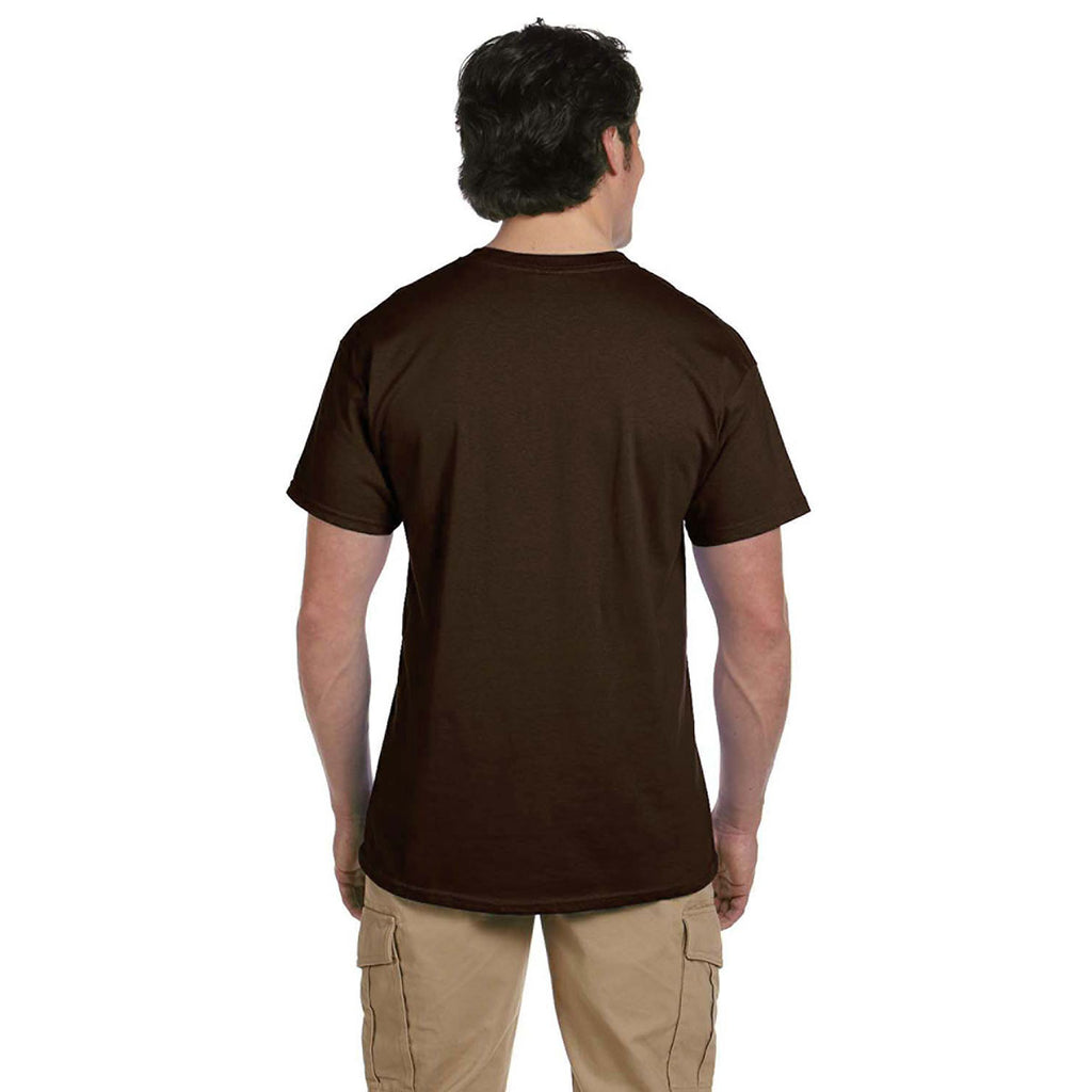 Gildan Men's Dark Chocolate Ultra Cotton 6 oz. T-Shirt