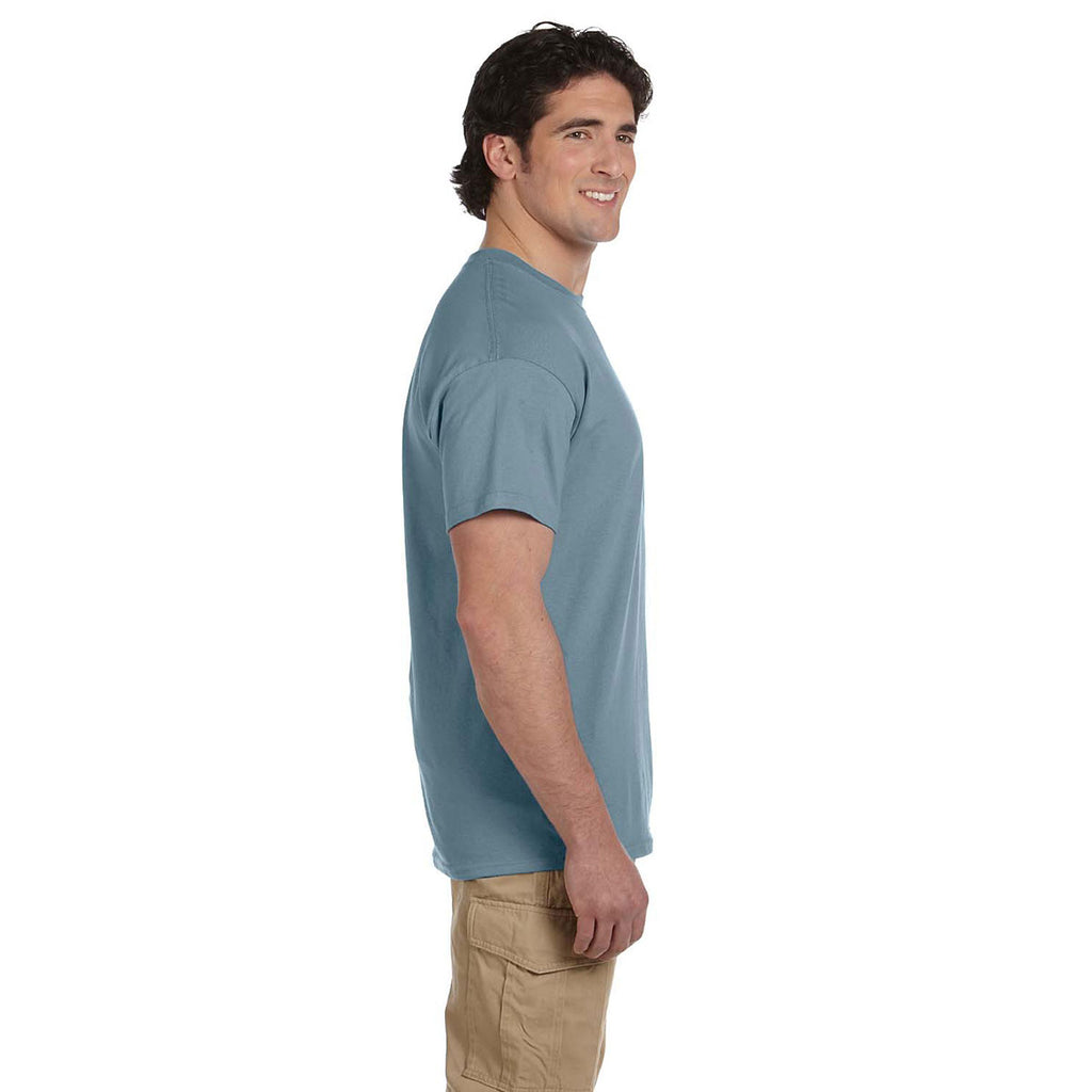 Gildan Men's Stone Blue Ultra Cotton 6 oz. T-Shirt