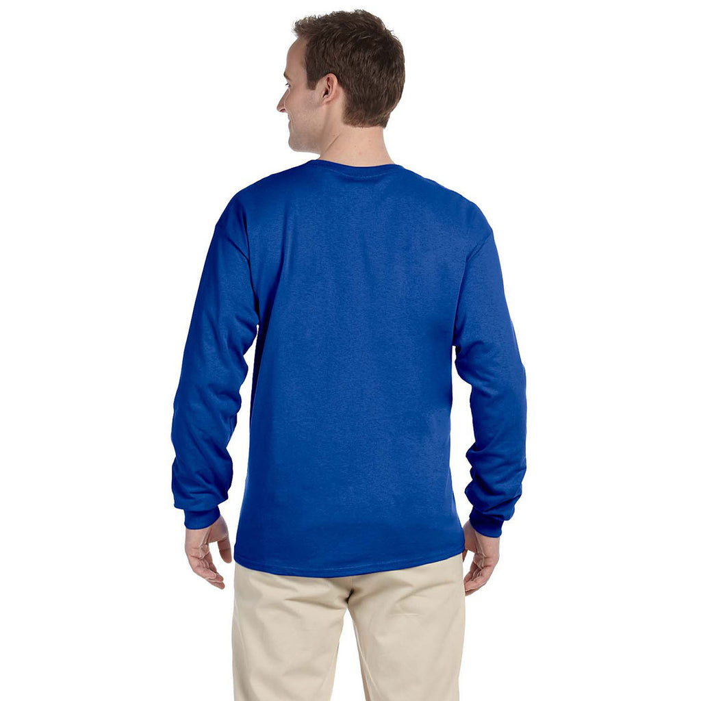 Gildan Men's Royal Ultra Cotton Long Sleeve T-Shirt