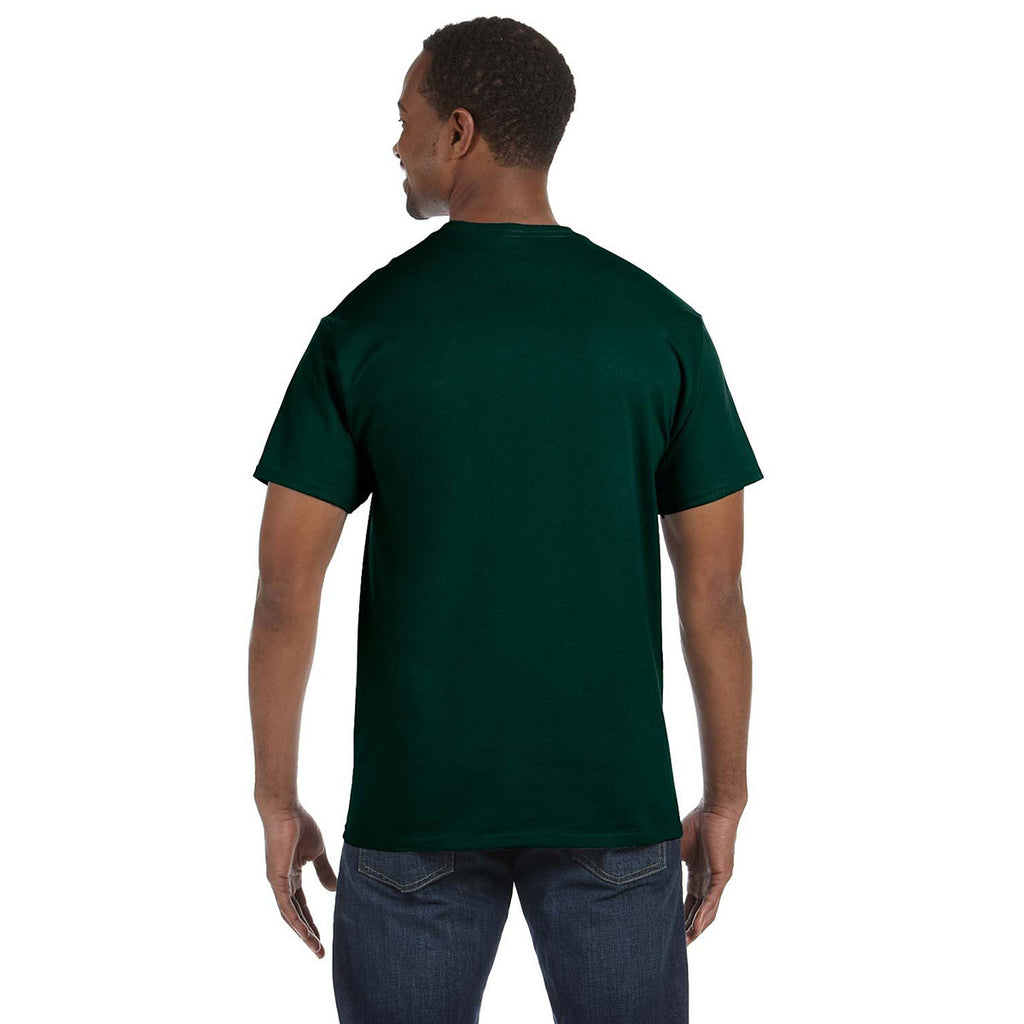 Gildan Men's Forest Green 5.3 oz. T-Shirt