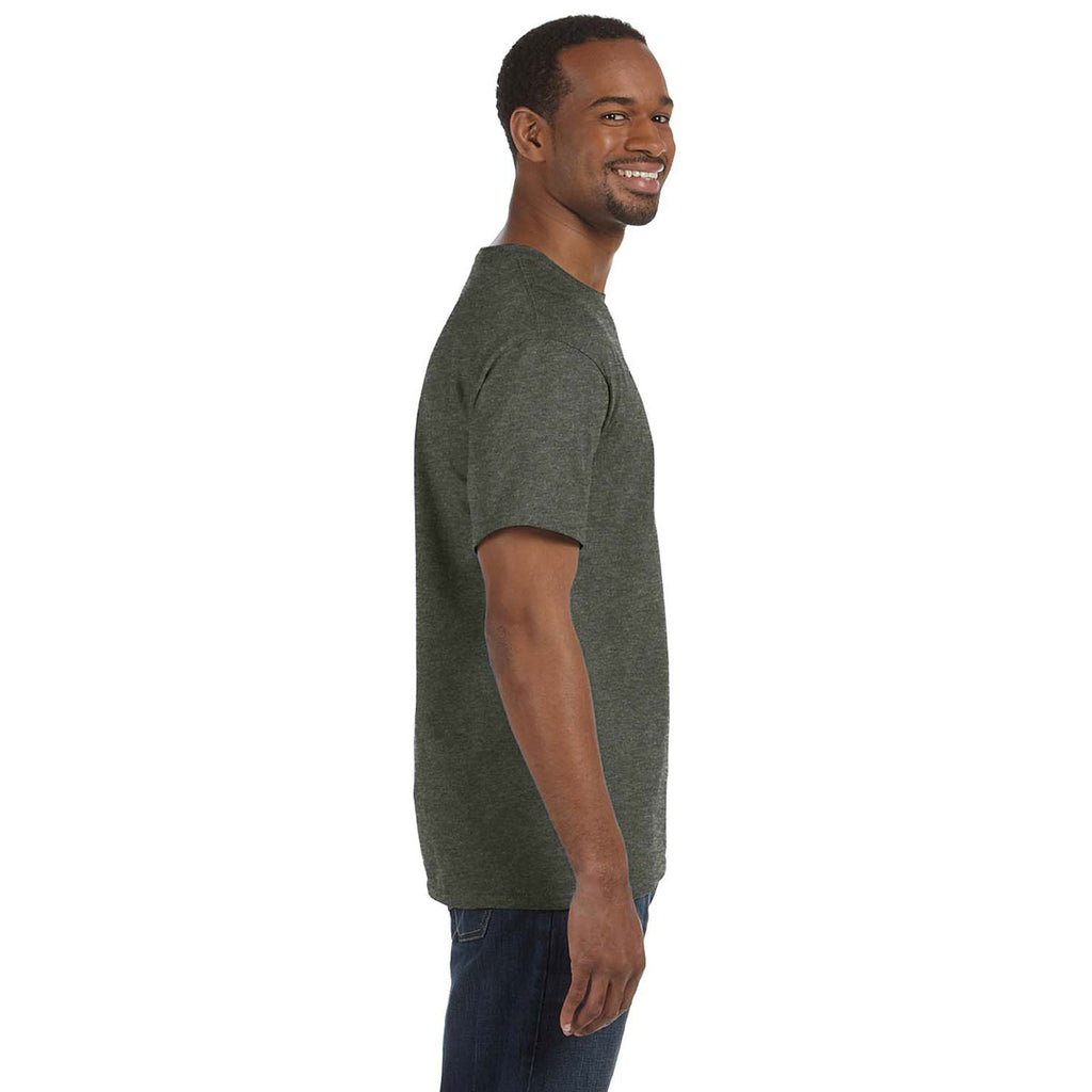 Gildan Men's Heather Military Green 5.3 oz. T-Shirt