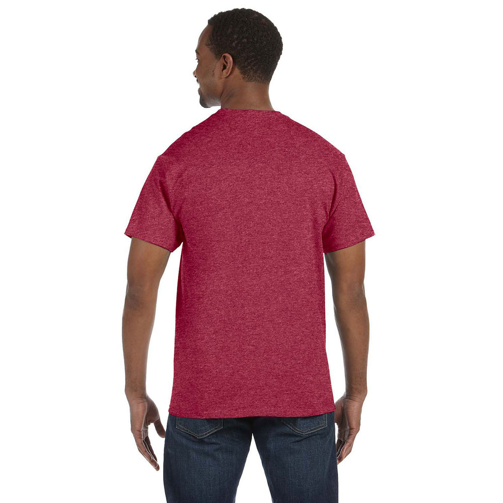 Gildan Men's Heather Red 5.3 oz. T-Shirt