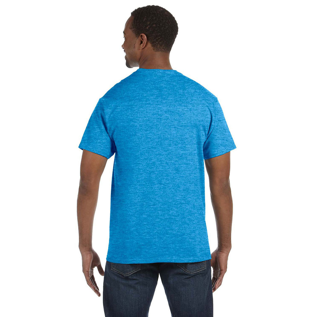 Gildan Men's Heather Sapphire 5.3 oz. T-Shirt