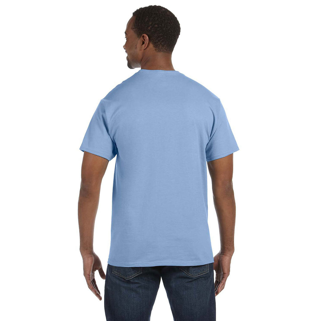 Gildan Men's Light Blue 5.3 oz. T-Shirt