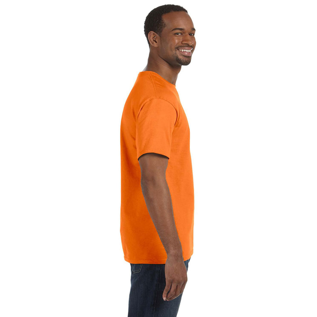 Gildan Men's Safety Orange 5.3 oz. T-Shirt
