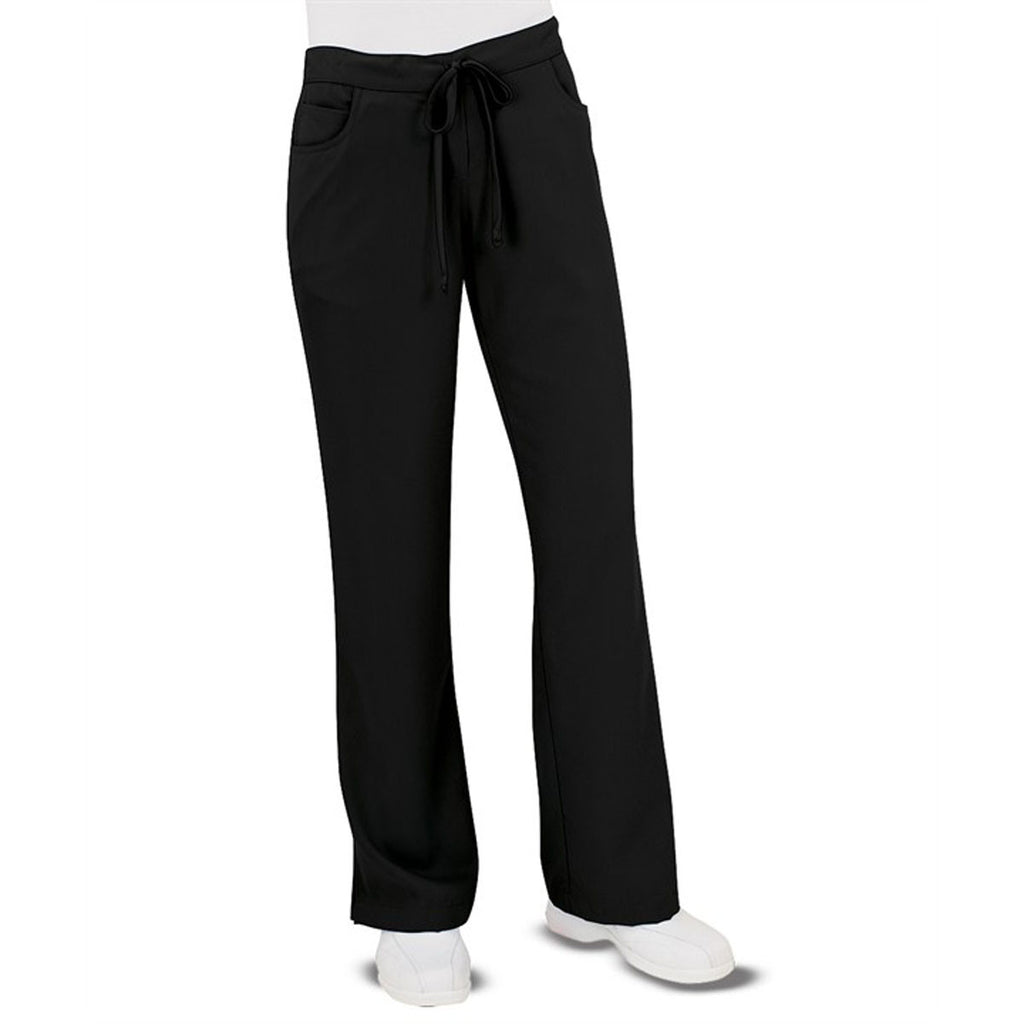 Grey's Anatomy Women's Black Tie Front Pant