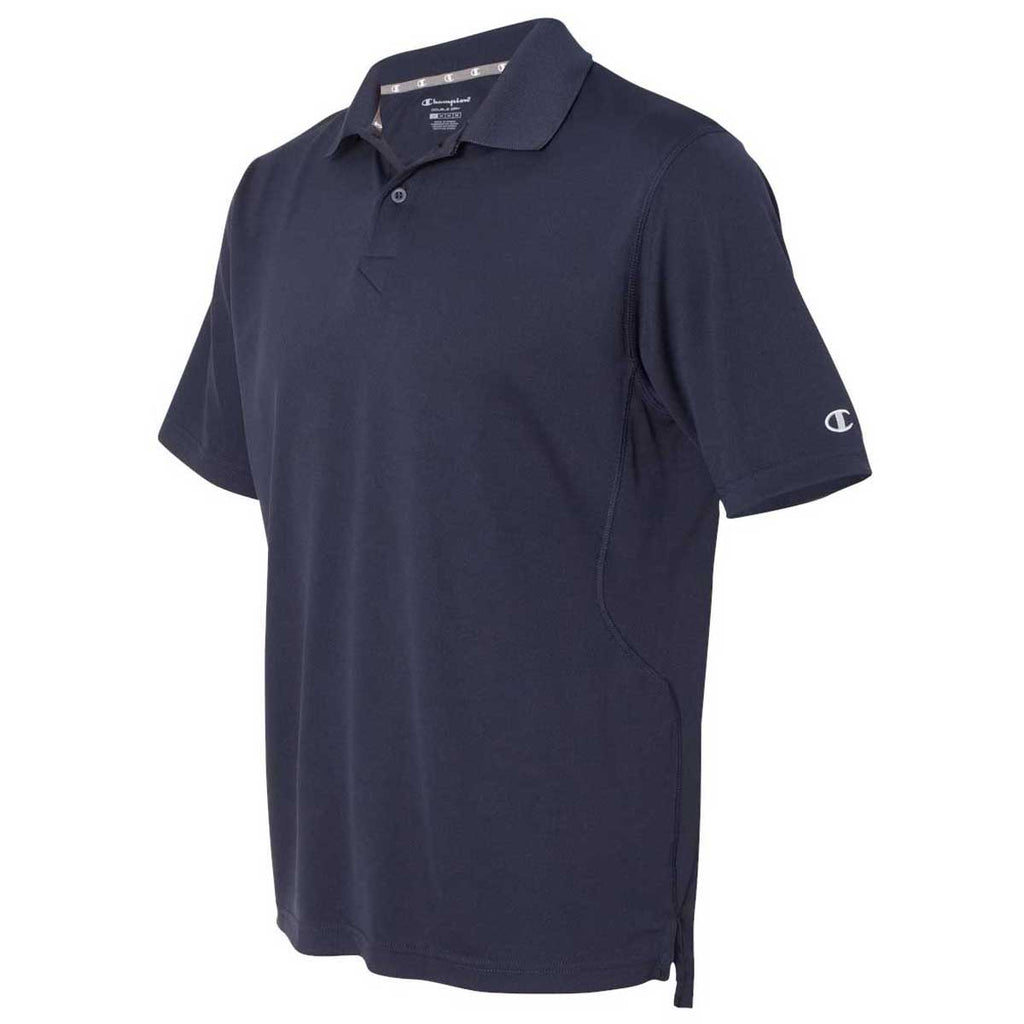 Champion Men's Navy Ultimate Double Dry Performance Sport Shirt